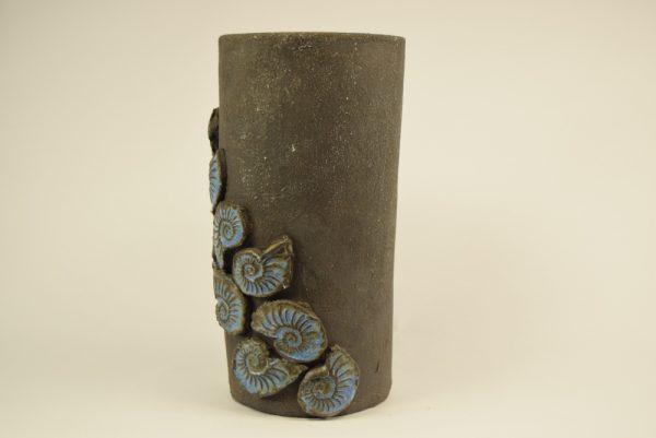 designer vase i rustik keramik