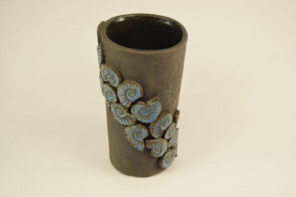 Keramik vase i sort