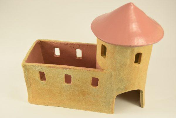 Krydderurteholder som fransk fæstning i keramik