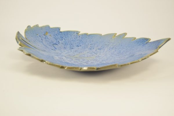 Unika kunsthåndværk fad i keramik