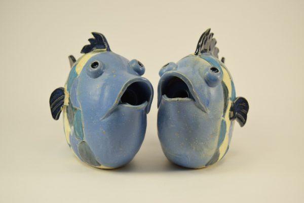 fisk i keramik