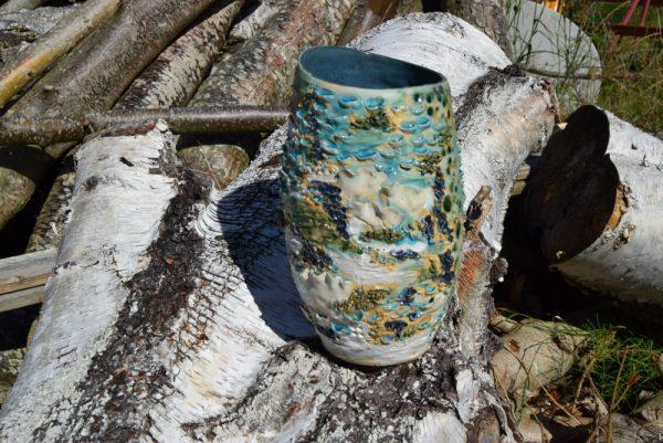 havets vase i keramik